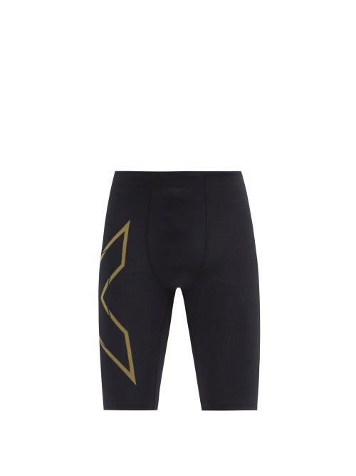 2xu Light Speed Compression Shorts In Black