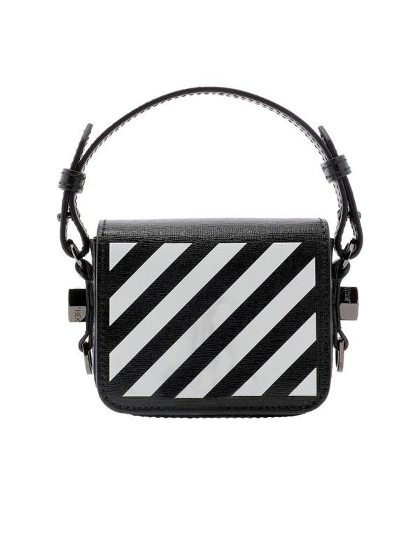 Off-white Diag Baby Bag In Black