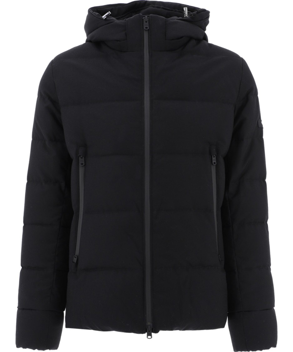 Tatras Black Wool Outerwear Jacket