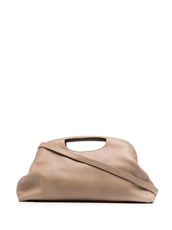Officine Creative Helen Clutch Bag In Neutrals