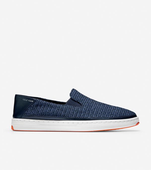 Cole Haan Cloudfeel Slip-on Sneaker In Blue