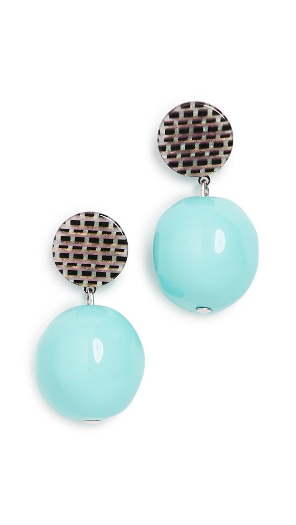 Rachel Comey Gumdrop Earrings In Black Multi