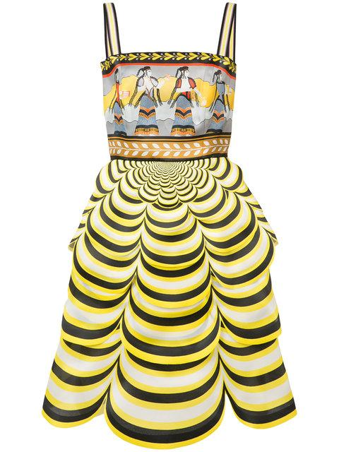 Mary Katrantzou Pandora Printed Silk-Organza Dress