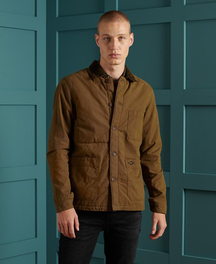 Superdry Utility Hemd In Brown