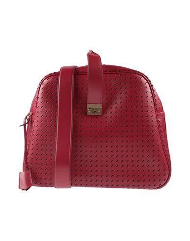 Marco De Vincenzo Handbags In Brick Red