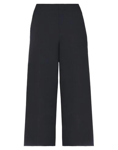 Liviana Conti Cropped Pants & Culottes In Dark Blue
