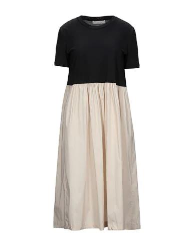 Liviana Conti Midi Dress In Black