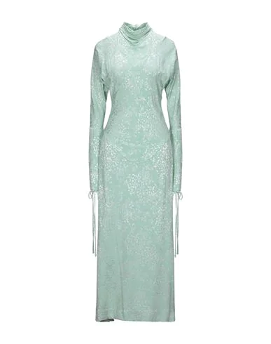 Vivienne Westwood Anglomania Long Dress In Light Green