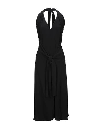 Sportmax Long Dress In Black
