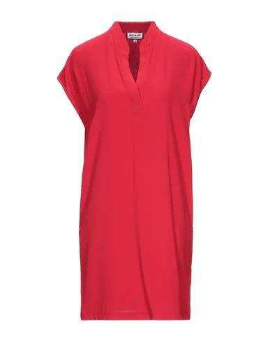 Paul & Joe Short Dress In Red