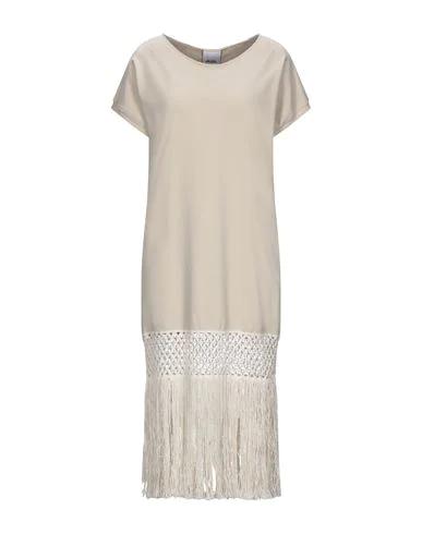 Jijil Knee-length Dress In Beige