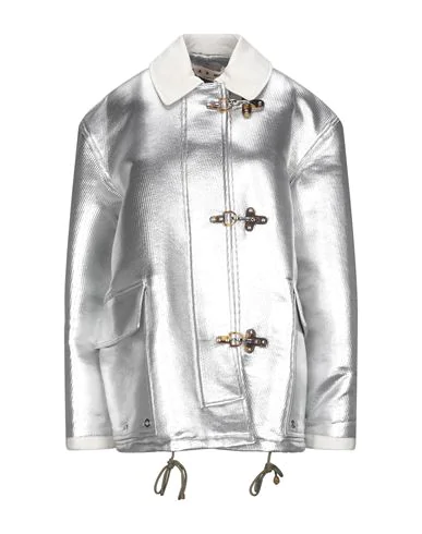 Marni Full-length Jacket In Silver