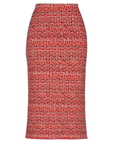Siyu Midi Skirts In Red