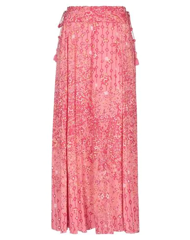 Poupette St Barth Maxi Skirts In Pink