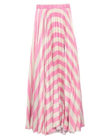 Black Coral Maxi Skirts In Pink