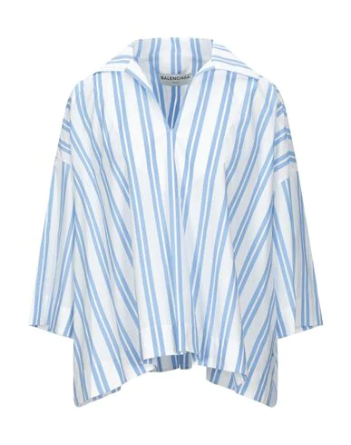 Balenciaga Blouse In Azure