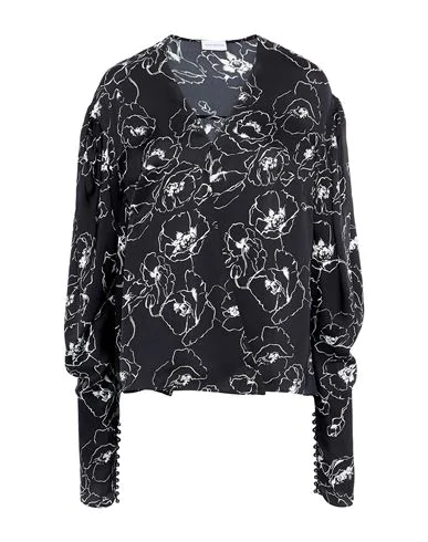 Magda Butrym Floral Shirts & Blouses In Black