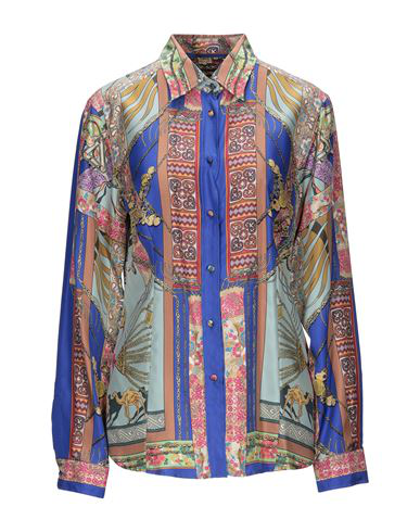 Etro Patterned Shirts & Blouses In Light Green