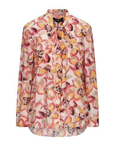 Paule Ka Floral Shirts & Blouses In Orange