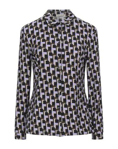 Siyu Patterned Shirts & Blouses In Black
