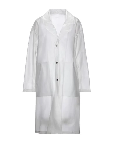 On Parle De Vous Full-length Jacket In White