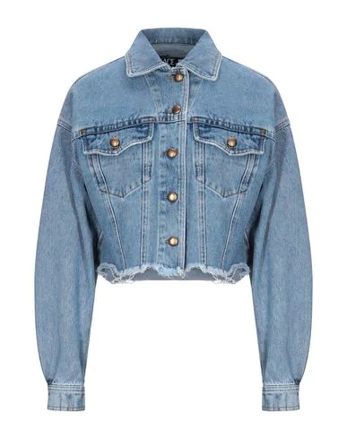 Versace Jeans Couture Denim Jacket In Blue