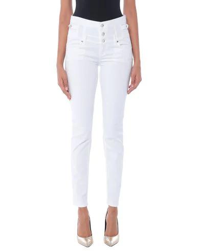 Liu •jo Denim Pants In White