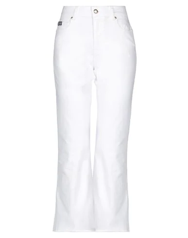 Versace Jeans Couture Denim Pants In White