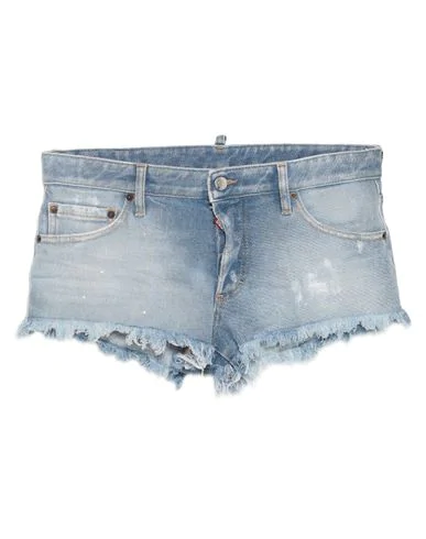 Dsquared2 Denim Shorts In Blue