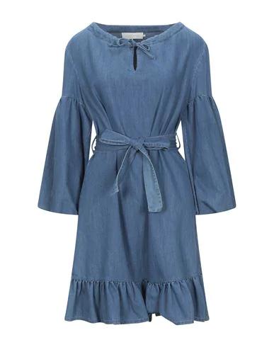 L'autre Chose Denim Dress In Blue