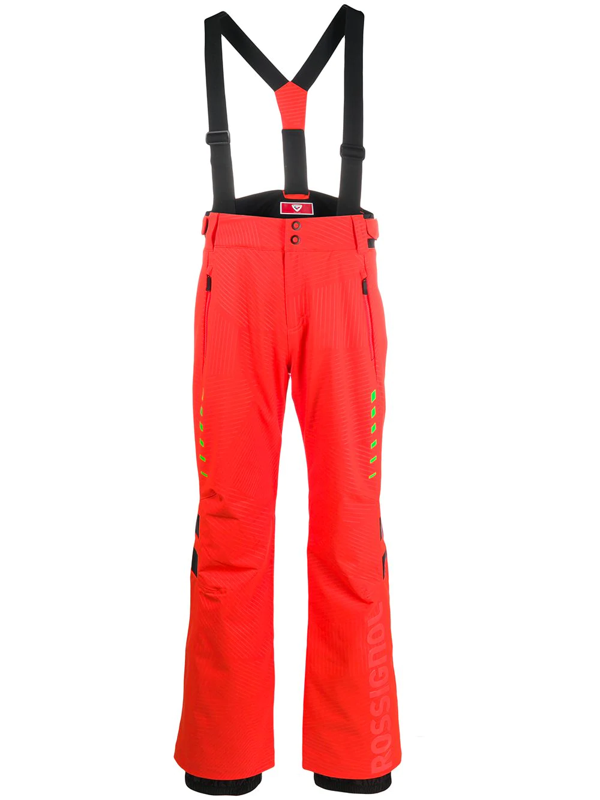Rossignol Hero Course Ski Trousers In Red