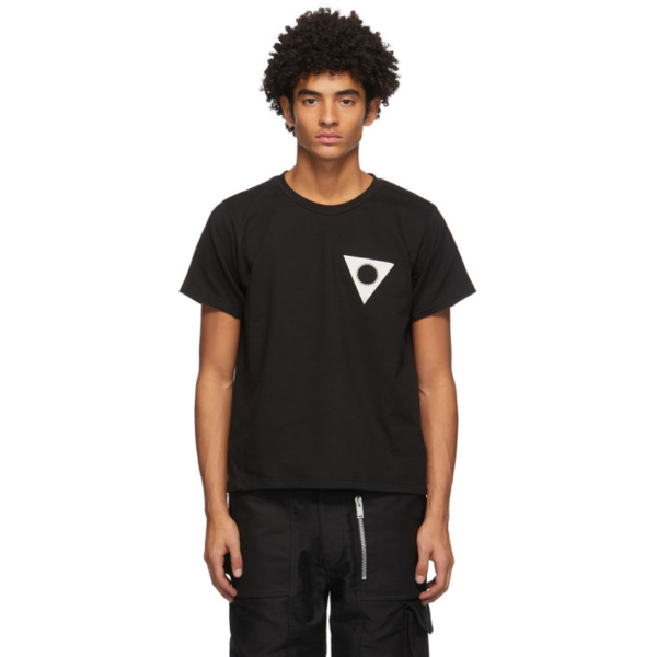 Adyar Ssense Exclusive Black French Terry Korps T-shirt
