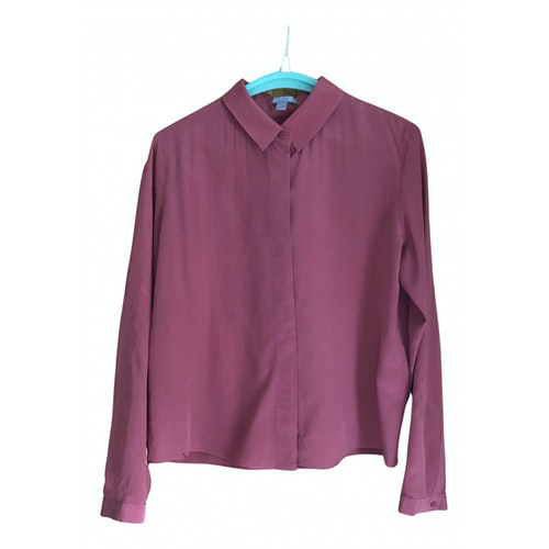Pre-owned Cos Pink Silk  Top