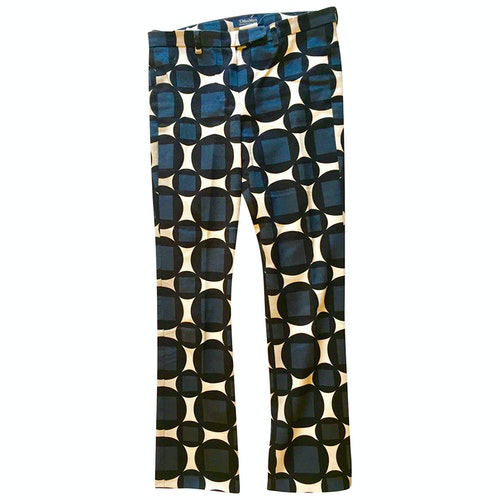 Pre-owned Max Mara Cotton Trousers