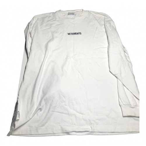 Pre-owned Vetements White Cotton  Top
