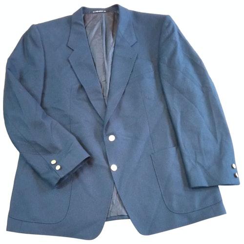 Pre-owned Saint Laurent Navy Wool Jacket