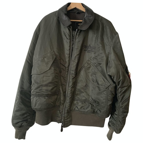 Pre-owned Alpha Industries Anthracite Jacket