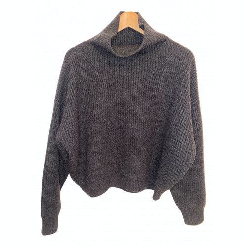 Pre-owned Isabel Marant Grey Cashmere Knitwear