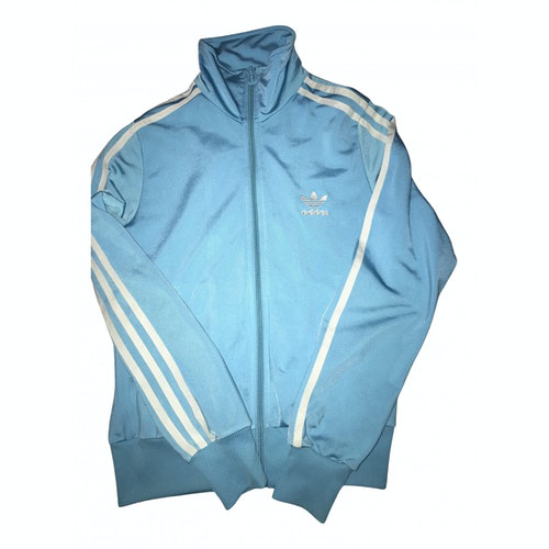 Pre-owned Adidas Originals Blue Cotton Jacket