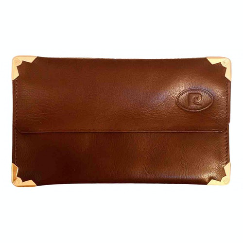 Pre-owned Pierre Cardin Brown Leather Purses, Wallet & Cases