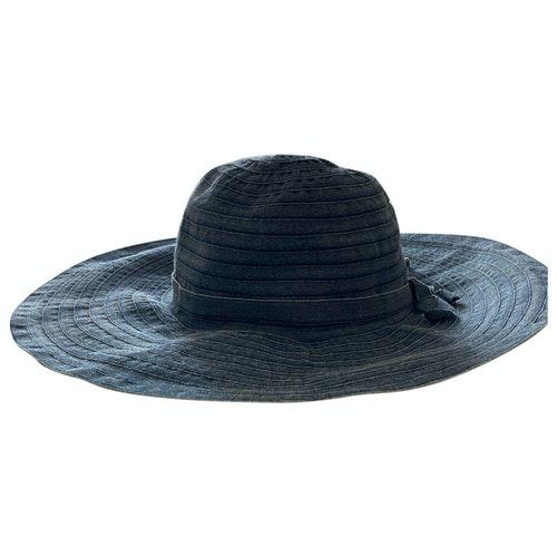 Pre-owned Furla Blue Hat