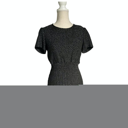 Pre-owned Maje Anthracite Cotton Dress