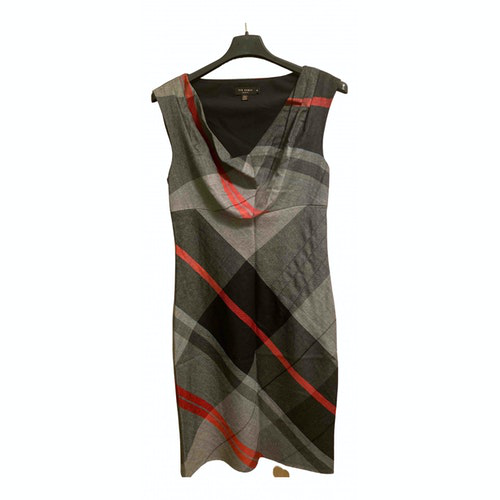 Pre-owned Ted Baker Multicolour Wool Dress