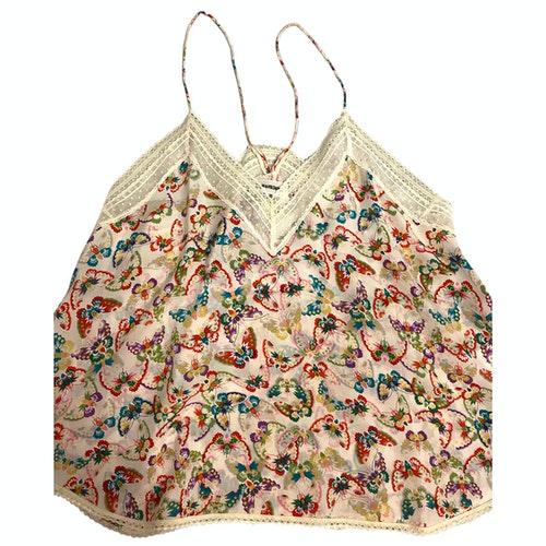 Pre-owned Zadig & Voltaire Multicolour Silk  Top