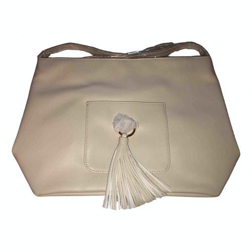 Pre-owned Nina Ricci Beige Leather Handbag
