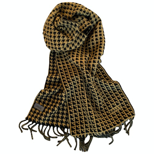Pre-owned Bally Wool Scarf & Pocket Squares