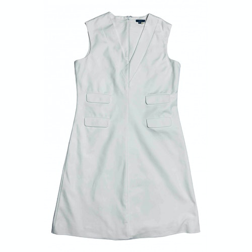 Pre-owned Raoul White Cotton Dress