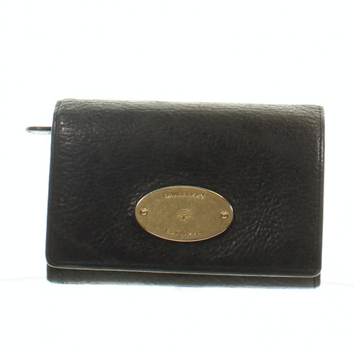 Pre-owned Mulberry Black Leather Wallet
