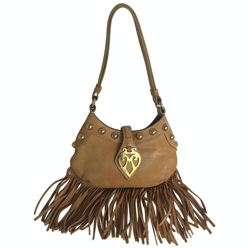 Pre-owned Moschino Brown Leather Handbag