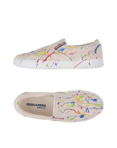 Dsquared2 Low-tops In Ivory